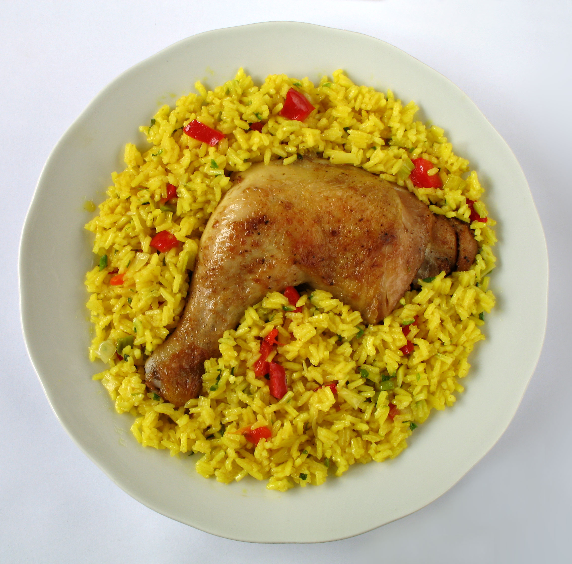 Cheapeats inc blog stick to your ribs spanish food - Arroz en blanco con pollo ...