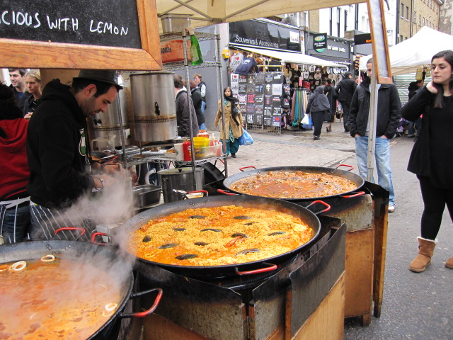 Cheapeats inc blog london s outdoor markets for Outdoor food market