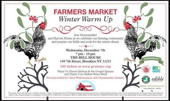 Greenmarket Hosts its First-Ever Dance Party, a Fundraiser for Farms