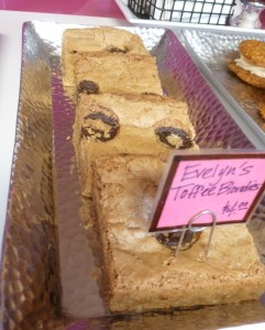 Toffee Blondies @ EK