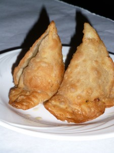 Chicken Samosa at Polash