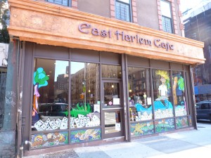 East Harlem Cafe Storefront