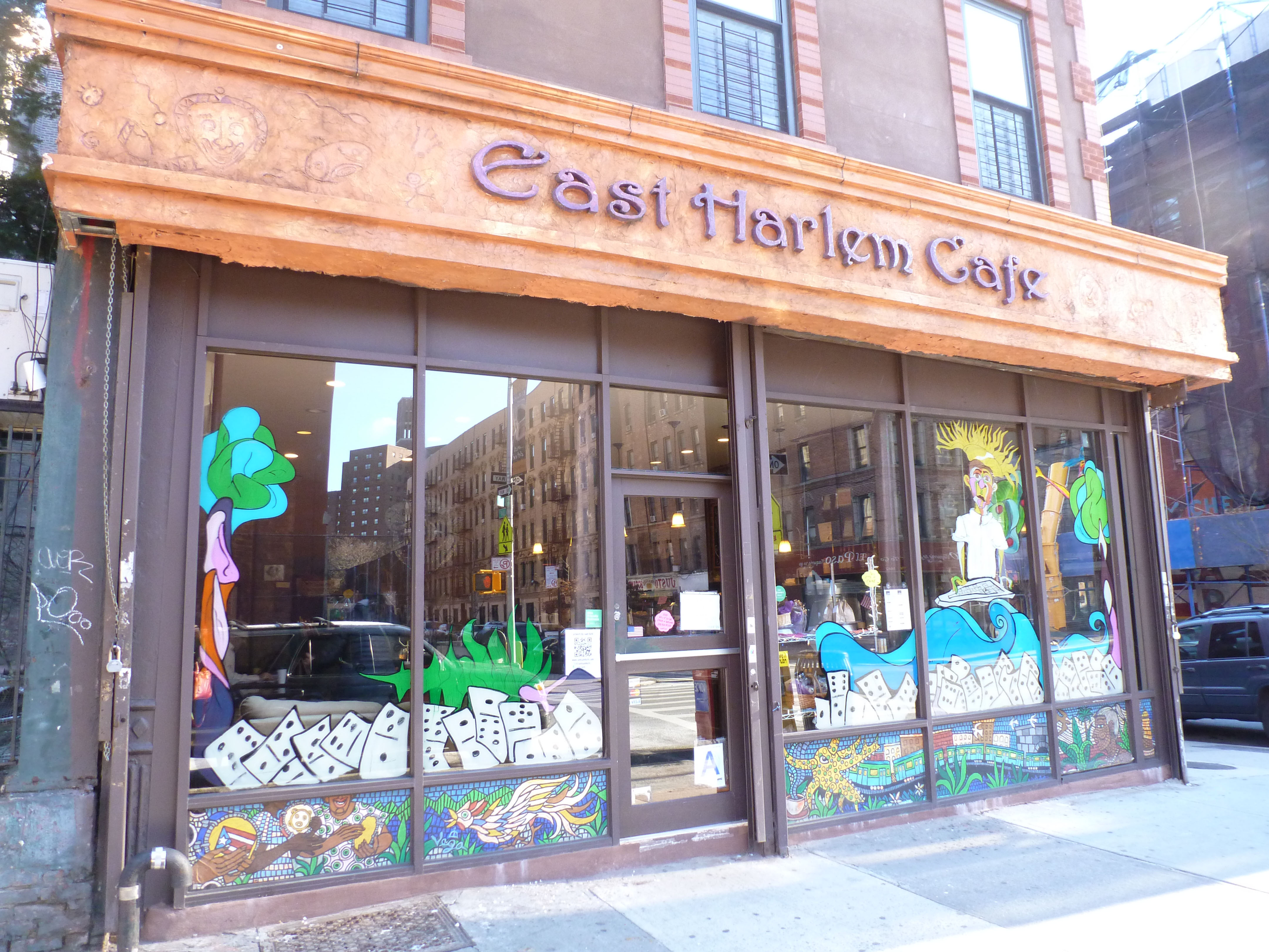 Harlem cafe wedding