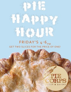 Pie Corps Happy Hour