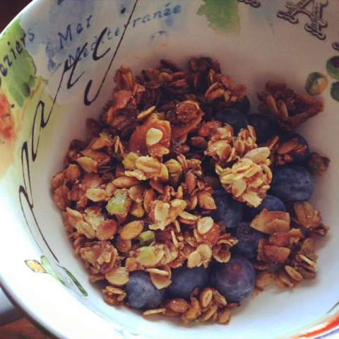 Legally Addictive Granola