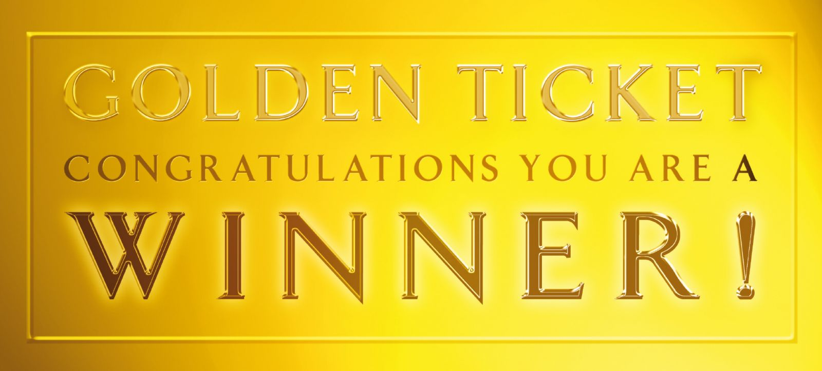 Gold Ticket Logo Pictures to Pin PinsDaddy – Winning Ticket Template